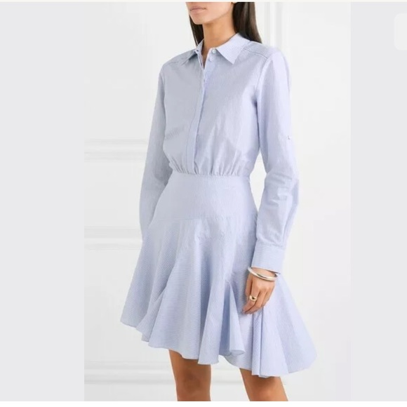 e1da3923e36c Jason Wu Dresses   Asymmetric Long Sleeve Poplin Dress   Poshmark